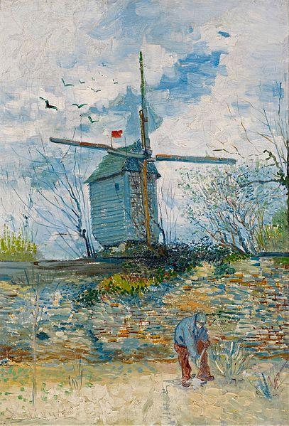 Le Moulin de la Galette (Vincent Van Gogh)